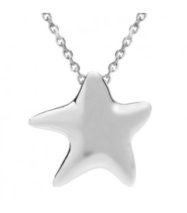 Necklaces - Starfish Charm Pendant 925 Sterling Silver