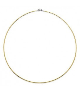 "More about Reversable Omega Necklace 18Kt 20"", Width 2 mm"