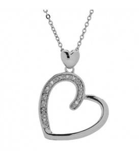More about Diamond Heart Pendant 925 Sterling Silver