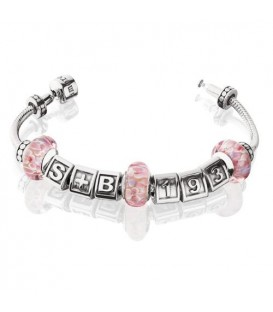 "More about Charm inspiration style Bead Bracelet 8.7"" 925 Sterling Silver"