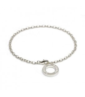 "More about 7"" Fine Charm Bracelet 925 Sterling Silver"