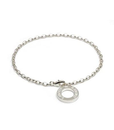 "Charms - 8"" Fine Charm Bracelet 925 Sterling Silver"
