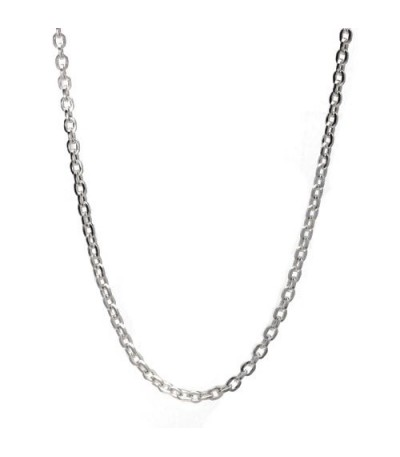 "Charms - Fine 17"" Chain Necklace 925 Sterling Silver"