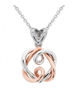 Amoro 18Kt Rose and White Gold Necklace