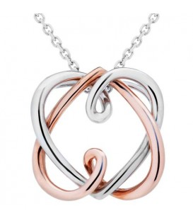 Necklaces - 18Kt Rose and White Gold Necklace
