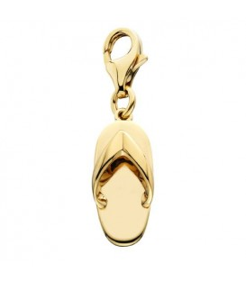 Charms - Sandal Charm 14Kt Yellow Gold