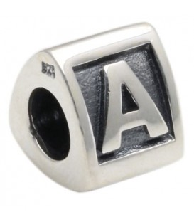 More about Letter A Bead Charm 925 Sterling Silver