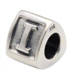 More about Letter I Bead Charm 925 Sterling Silver
