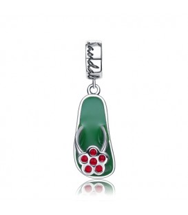 More about St. Lucia Green Bead Charm 925 Sterling Silver