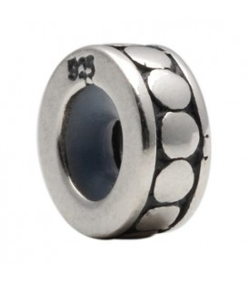 Antique Stopper-Spacer Bead Bead Charm 925 Sterling Silver