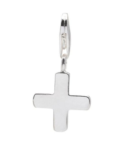 Charms - Plus Clip On Charm 925 Sterling Silver