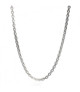 "Bead Chain Necklace 17"" 925 Sterling Silver"