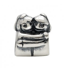 More about Couple Hugging Bead Charm 925 Sterling Silver