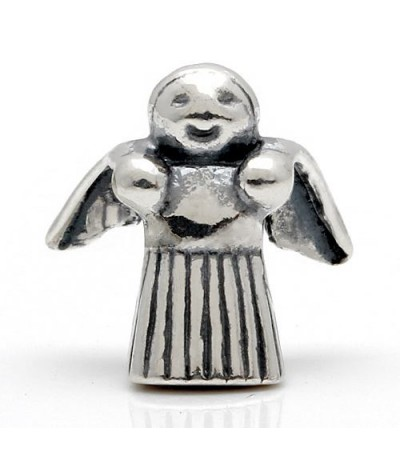 Charms - Angel Bead Charm 925 Sterling Silver
