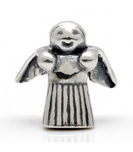 Angel Bead Charm 925 Sterling Silver