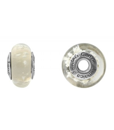 Sandals Carlyle Champagne White Sand Bead 925 Sterling Silver