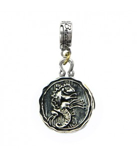 Beaches Turks & Caicos Resort Iguana Charm 925 Sterling Silver