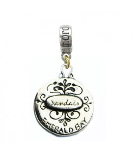 Sandals Bahamas Emerald Bay Resort Seagull Charm 925 Sterling Silver