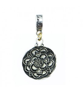 Sandals Grande St. Lucian Resort Tudor Rose bead Charm 925 Sterling Silver