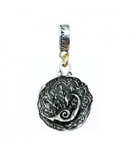 Charms - Sandals Jamaica Royal Plantation Resort Peacock Bead Charm 925 Sterling Silver