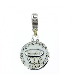 Sandals Jamaica Royal Plantation Resort Peacock Bead Charm 925 Sterling Silver