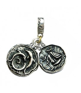 Charms - Sandals Grande Antigua's Dolphin & Antigua Yacht Sterling Silver Bead Charm