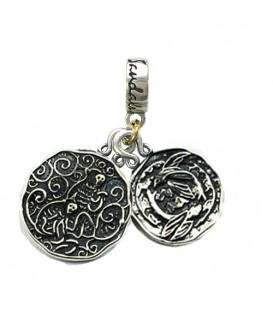 More about Sandals Barbados' Green Monkey & Barbados Flying Fish Sterling Silver Bead Charm