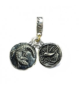 Charms - Sandals Whitehouse's Crocodile & Jamaica Long Tailed Hummingbird Sterling Silver Bead Charm
