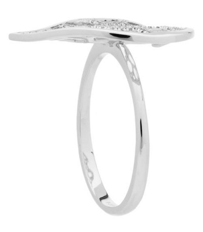 0.20 Carat Round Brilliant Diamond Ring 18Kt White Gold