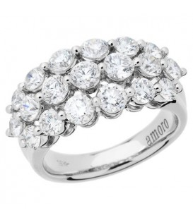 More about 2.55 Carat Round Brilliant Eternitymark Diamond Ring 18Kt White Gold