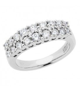 More about 1.01 Carat Round Brilliant 18Kt Diamond Ring White Gold