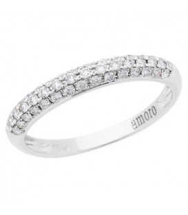 More about 0.33 Carat Round Brilliant Diamond Ring 18Kt White Gold