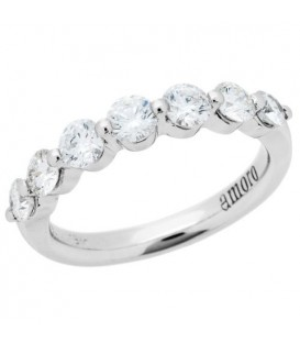 More about 1.02 Carat Round Brilliant Diamond Ring 18Kt White Gold