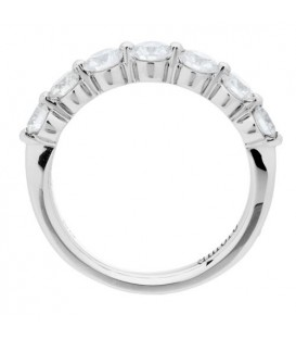 1.02 Carat Round Brilliant Diamond Ring 18Kt White Gold