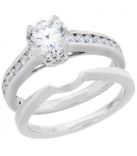 More about 1 Carat Eternitymark Diamond Bridal Set 18Kt White Gold
