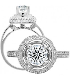 More about 1.49 Carat Round Brilliant Eternitymark Diamond Ring 18Kt White Gold