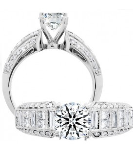 More about 1.79 Carat Round Brilliant Eternitymark Diamond Ring 18Kt White Gold