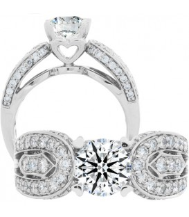 More about 1.75 Carat Round Brilliant Eternitymark Diamond Ring 18Kt White Gold