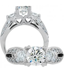 More about 1.75 Carat Round Brilliant Diamond Ring 18Kt White Gold