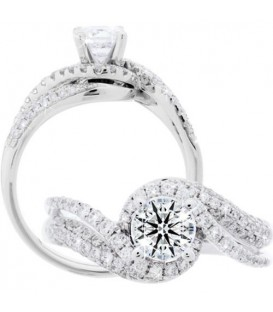 More about 1.22 Carat Round Brilliant Eternitymark Diamond Ring 18Kt White Gold