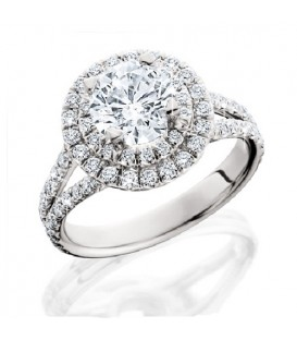 More about 1.84 Carat Round Brilliant Eternitymark Diamond Ring 18Kt White Gold
