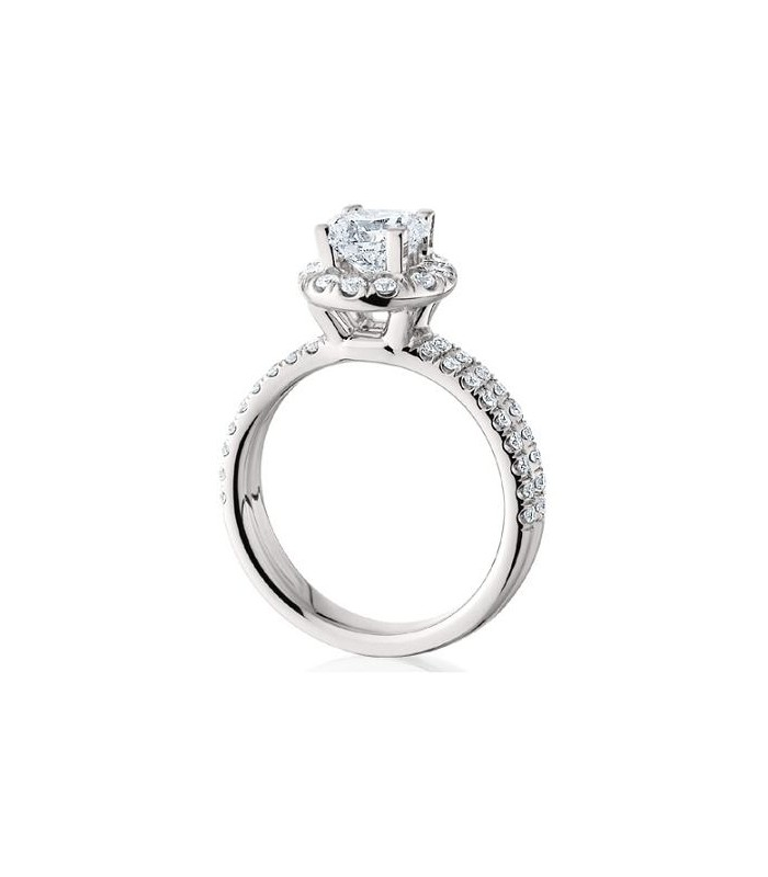 Latest Collection Of Solitaire Accented Diamond Ring 1.38 Carats 18k Yellow Gold Size 5.5 6.5 7.5 Fine Rings
