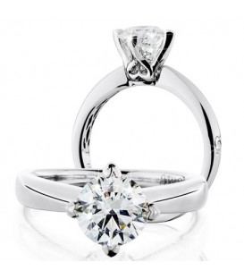 More about 1.50 Carat Round Brilliant Eternitymark Diamond Ring 18Kt White Gold