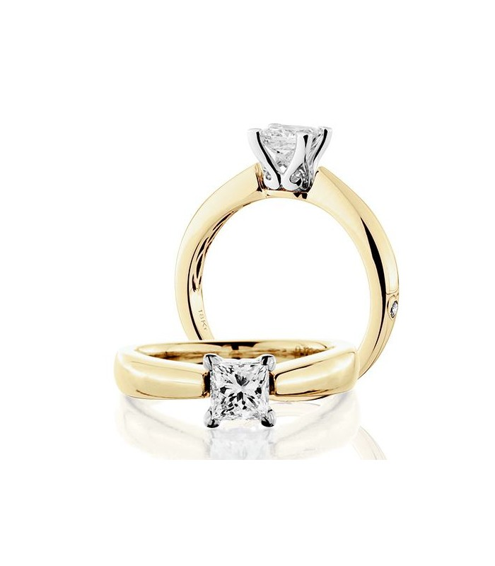 Karat Princess Cut Diamond Ring
