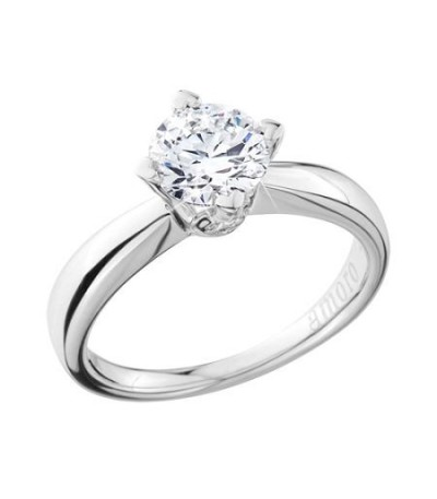 1.25 Carat Round Brilliant Eternitymark Diamond Ring 18Kt White Gold