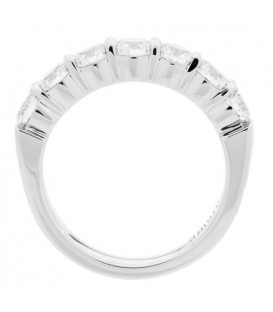 1.50 Carat Round Brilliant Eternitymark Diamond Ring 18Kt White Gold