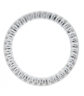 1.14 Carat Round Brilliant Diamond Eternity Band 18Kt White Gold