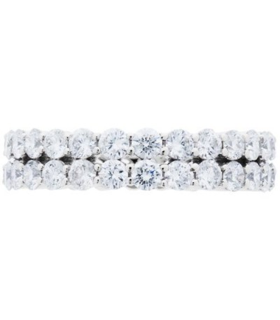 2.65 Carat Round Brilliant Diamond Eternity Ring 18Kt White Gold