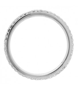 0.32 Carat Round Brilliant Diamond Eternity Ring 18Kt White Gold