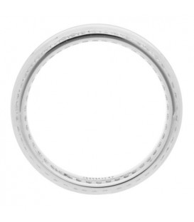 0.53 Carat Round Brilliant Diamond Eternity Ring 18Kt White Gold